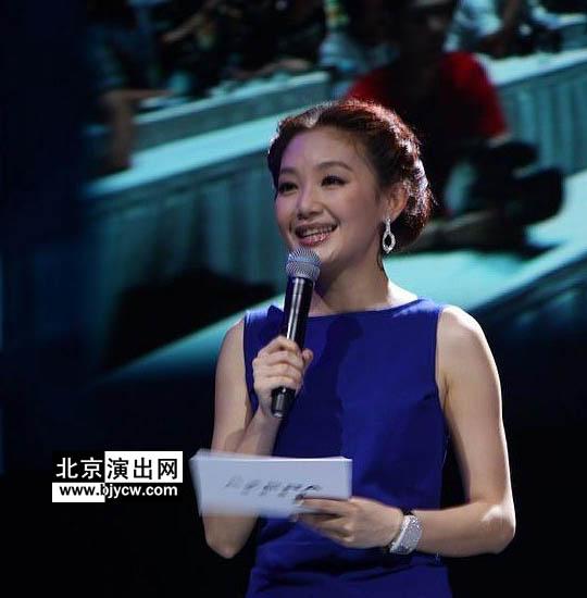 北京 刘婧/现场激光秀表演
